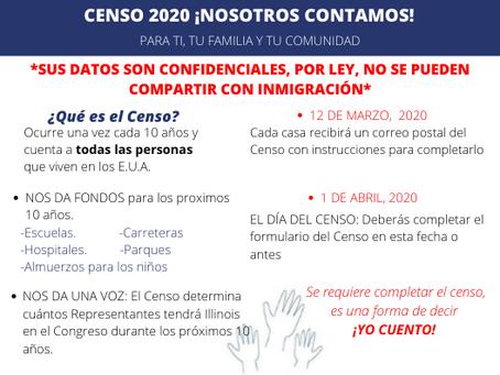 Censo 2020, ¡todos contamos!