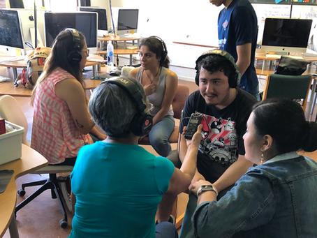 Reporteros Comunitarios en La Villita