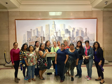Enlace parent leaders ramp up their engagement in education issues