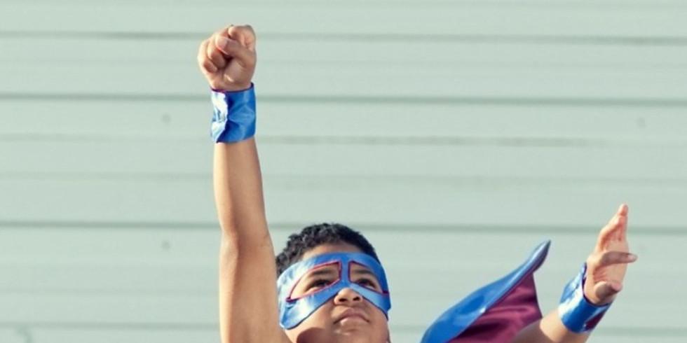 Superhero Speed Bounce Challenge