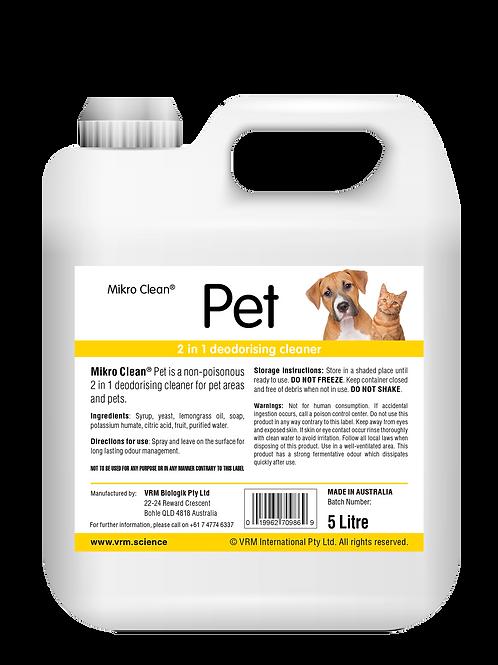 Mikro Clean Pet 5L