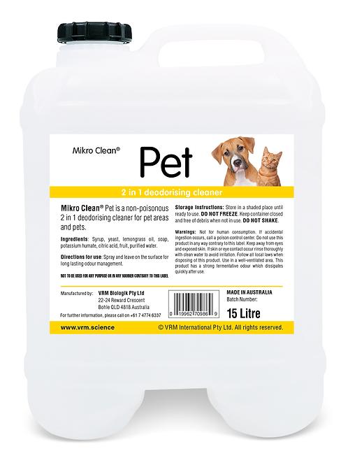Mikro Clean Pet 15L