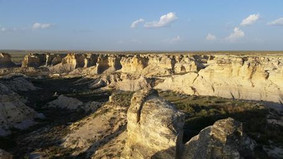 Little Jerusalem Badlands