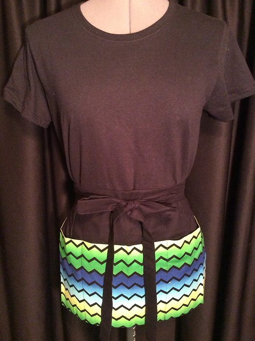 Crafters Apron-Zig Zag