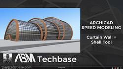 Thumb Bent Curtain wall shell