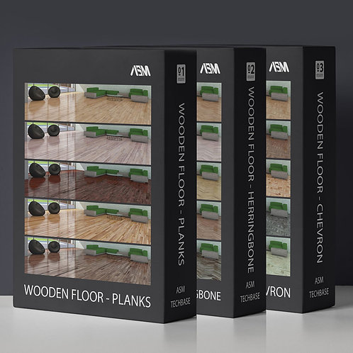Wooden Floor Complete Pack 4K