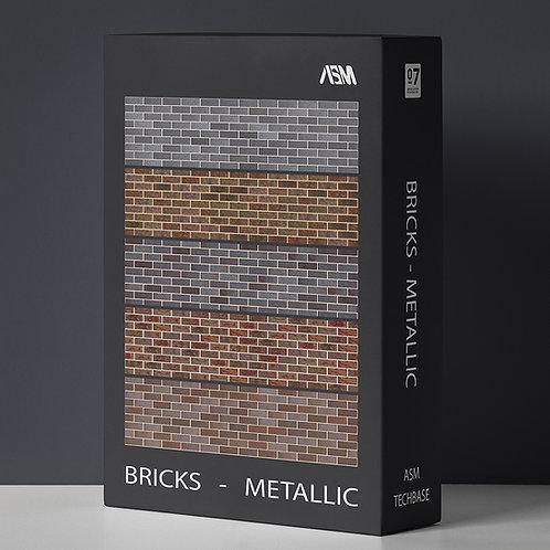 Bricks Metallic 6K