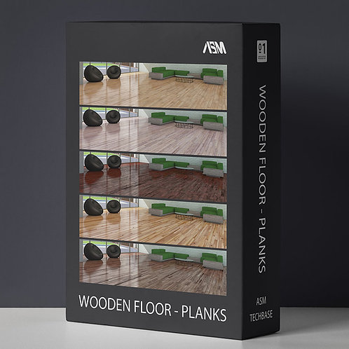 AC Wooden Floor Planks 4K