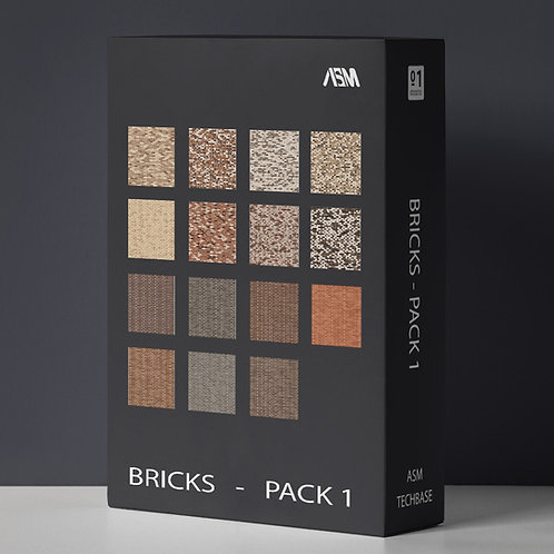 Twinmotion Bricks Pack 1 @ 4K