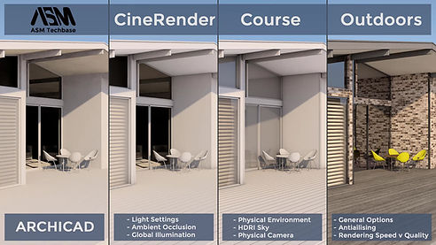 This Cinerender course is designed to give you a solid foundation of Cinerender and CGI's (Computer Generated Images) environment. The goal is to understand the different settings and options like: Ambient Occlusion, Global Illumination, Physical and HDRI Environments, Antiailising, Rendering speed v quality and many more. I will take you through this course on a step by step basis which makes it easier to understand and remember