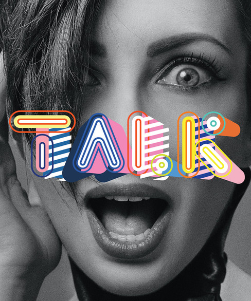 TALK poster
