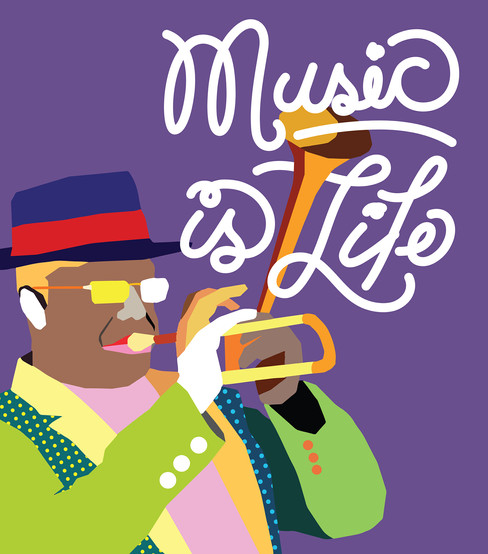 Music is Life PRINT