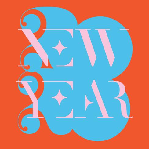 New Year type piece