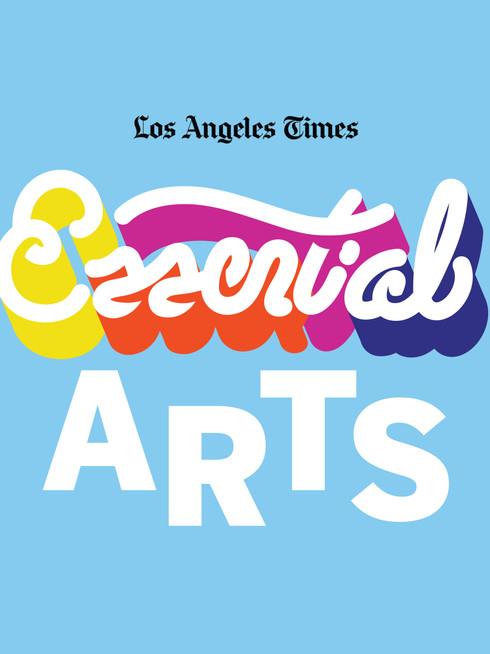 Essential Arts logo for Los Angeles Timea