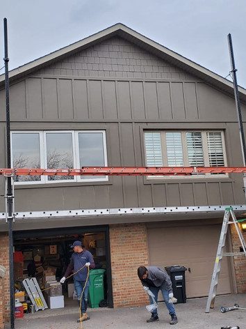 After - James Hardie Board and Batten