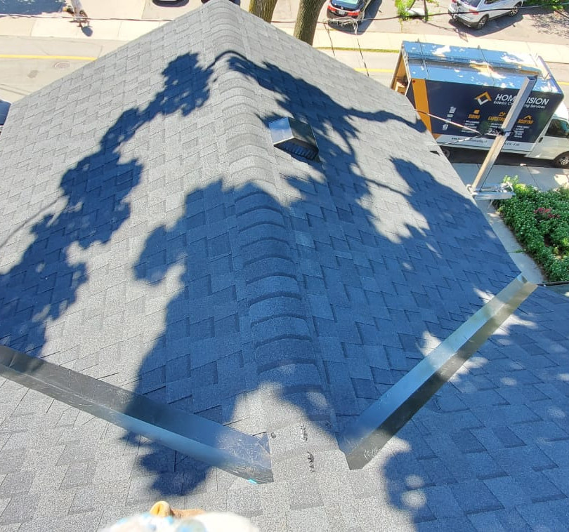 After - Shingles and Metal Valley