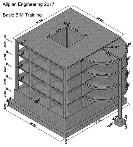 Allplan 2017 BIM ENGINEERING Basic Course