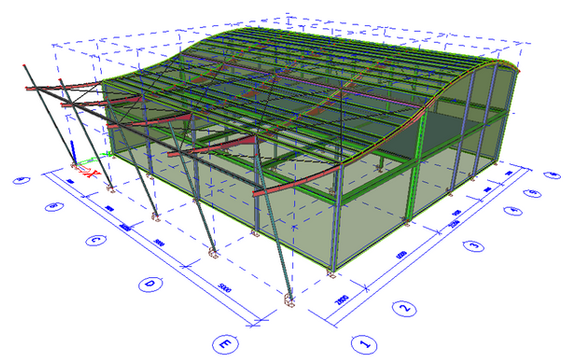 Lyon Exhibition Structure Design