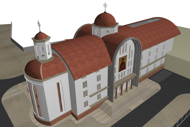 Church Roof Structural Design