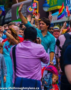 Justin Trudeau pride 2