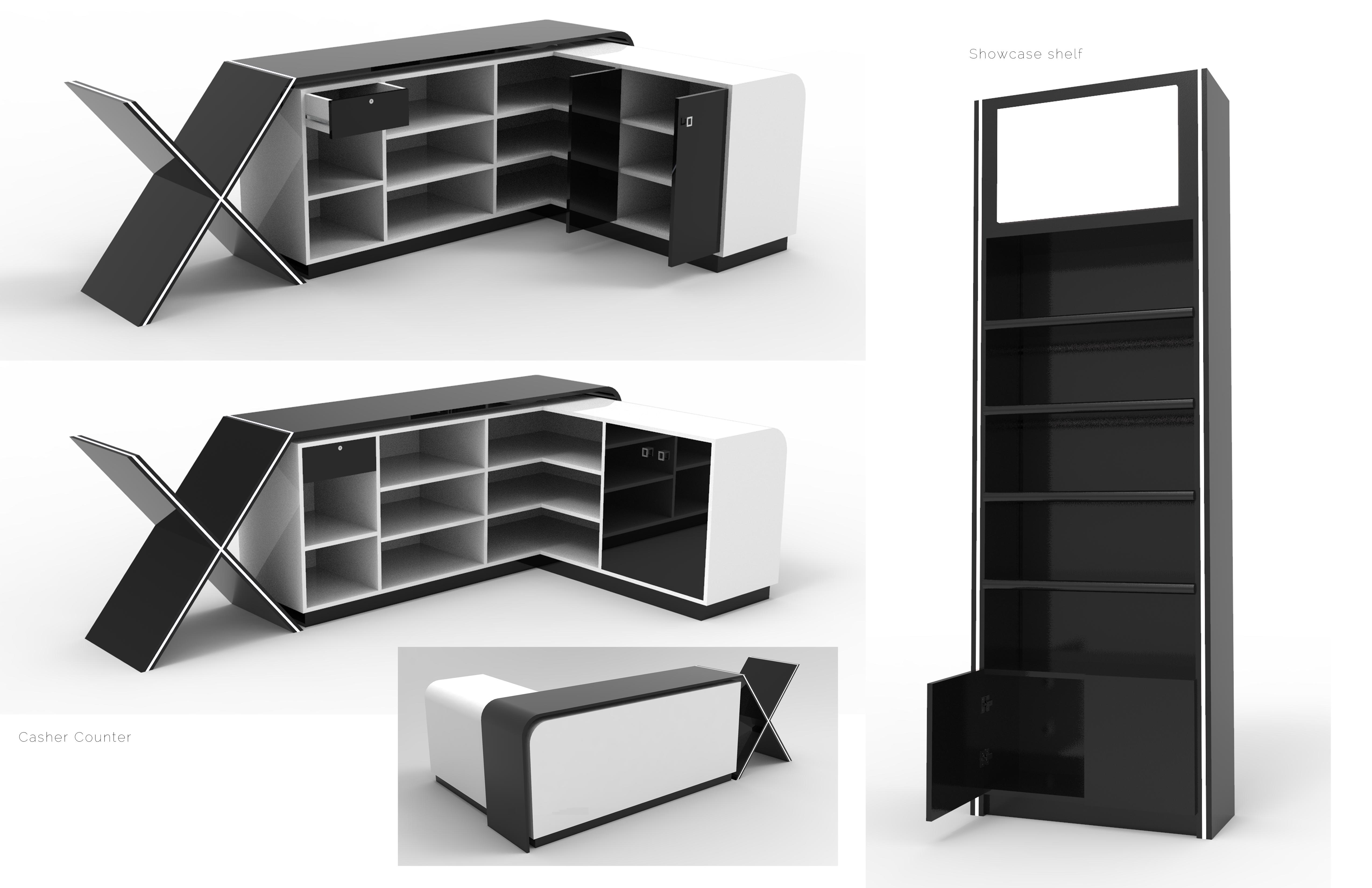 FaceX shelf
