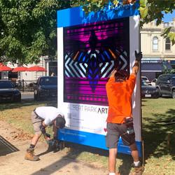 Installation Day - Josh Muir