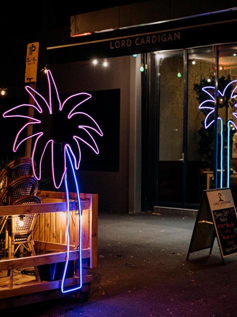 Carla O'Brien - Neon Palms Trees 2020