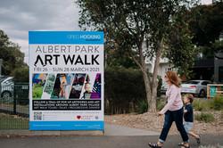 Albert Park Art Walk - 2021