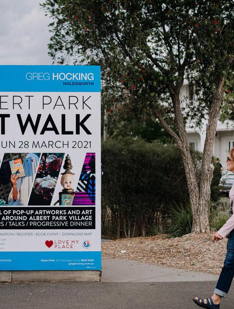 Albert Park Art Walk 2021