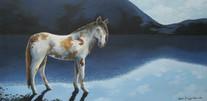 Blue Pony PRINT