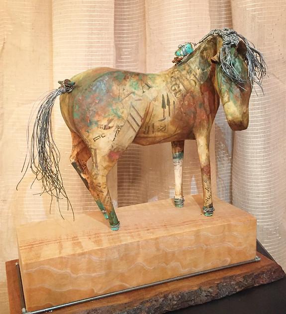 Turqoise pony