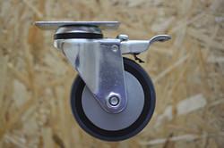 rueda gris c/ruleman