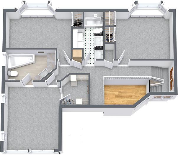 2039 Cinnabar Drive - 2. Floor - 3D Floo