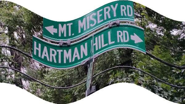 Mount Misery Road, Long Island, New York