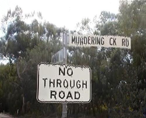 Murdering Creek Road, Weyba Downs, Australia