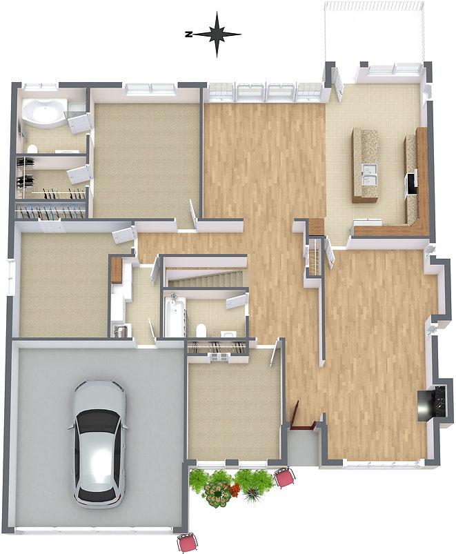 2278 Kingsford Place - Main Level - 3D F