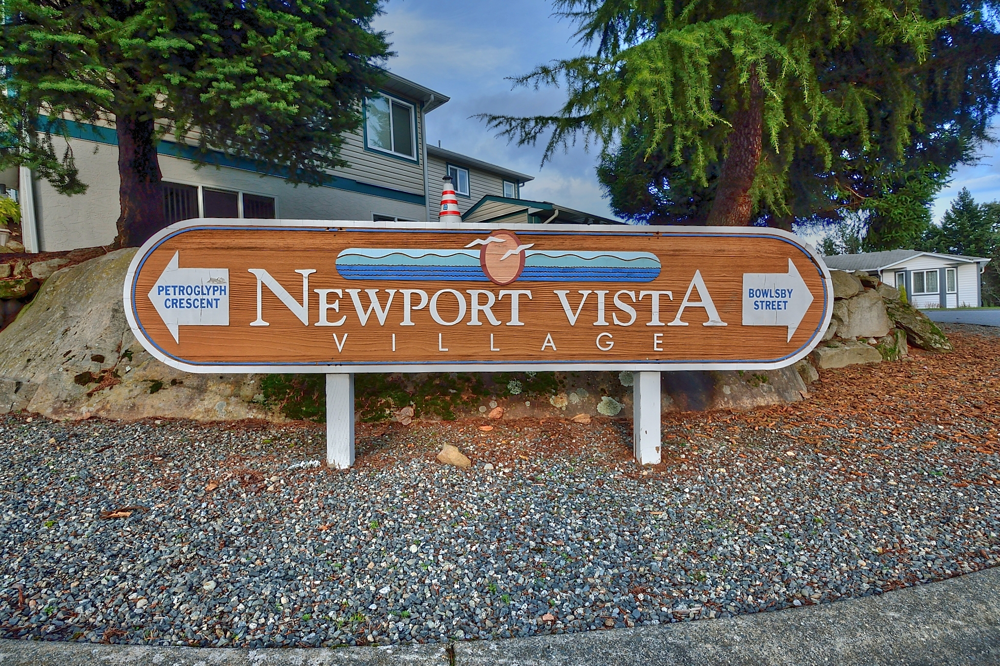 Newport Vista Sign