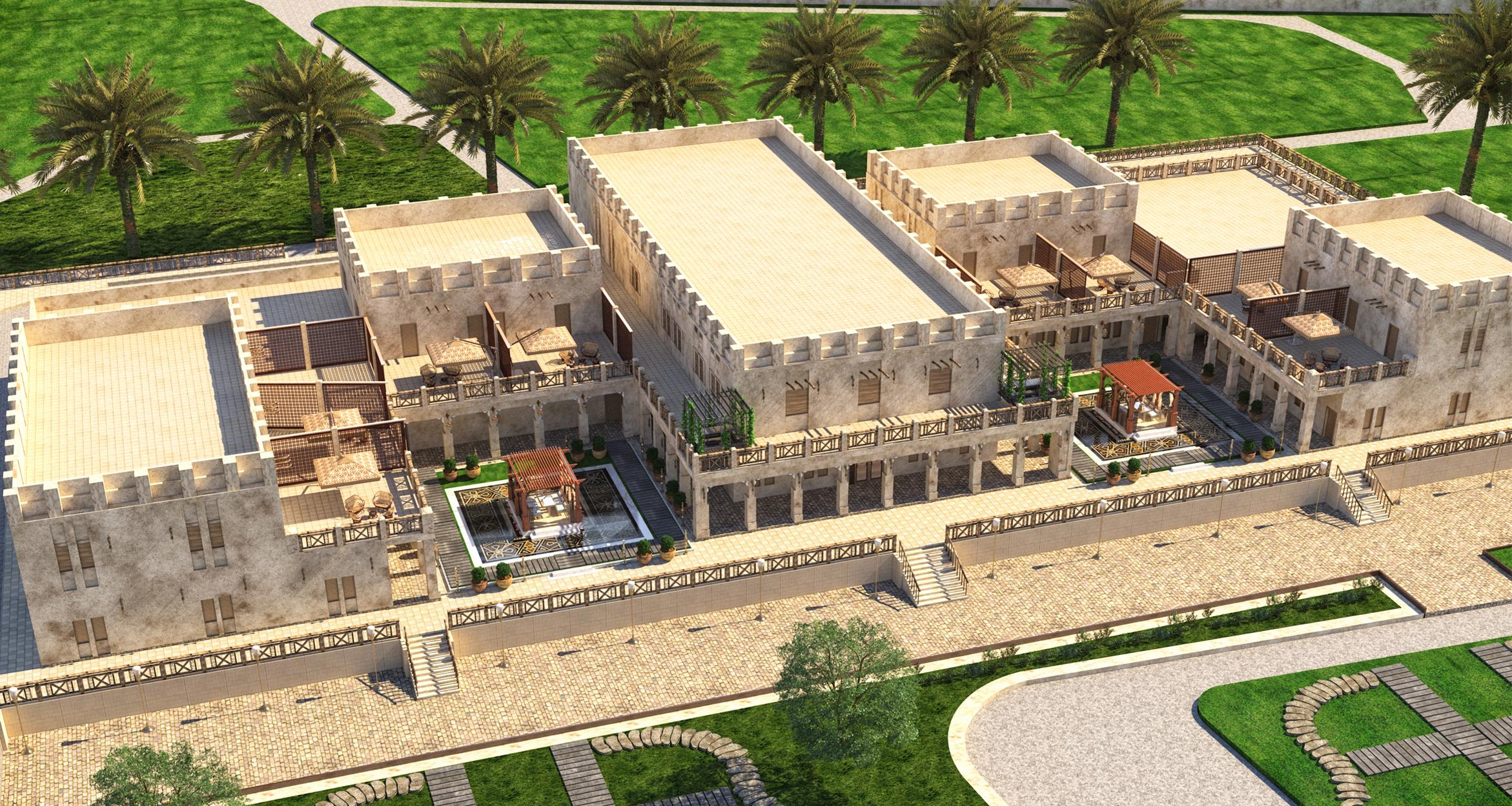 Ahmed Siddqi farm Villa 0
