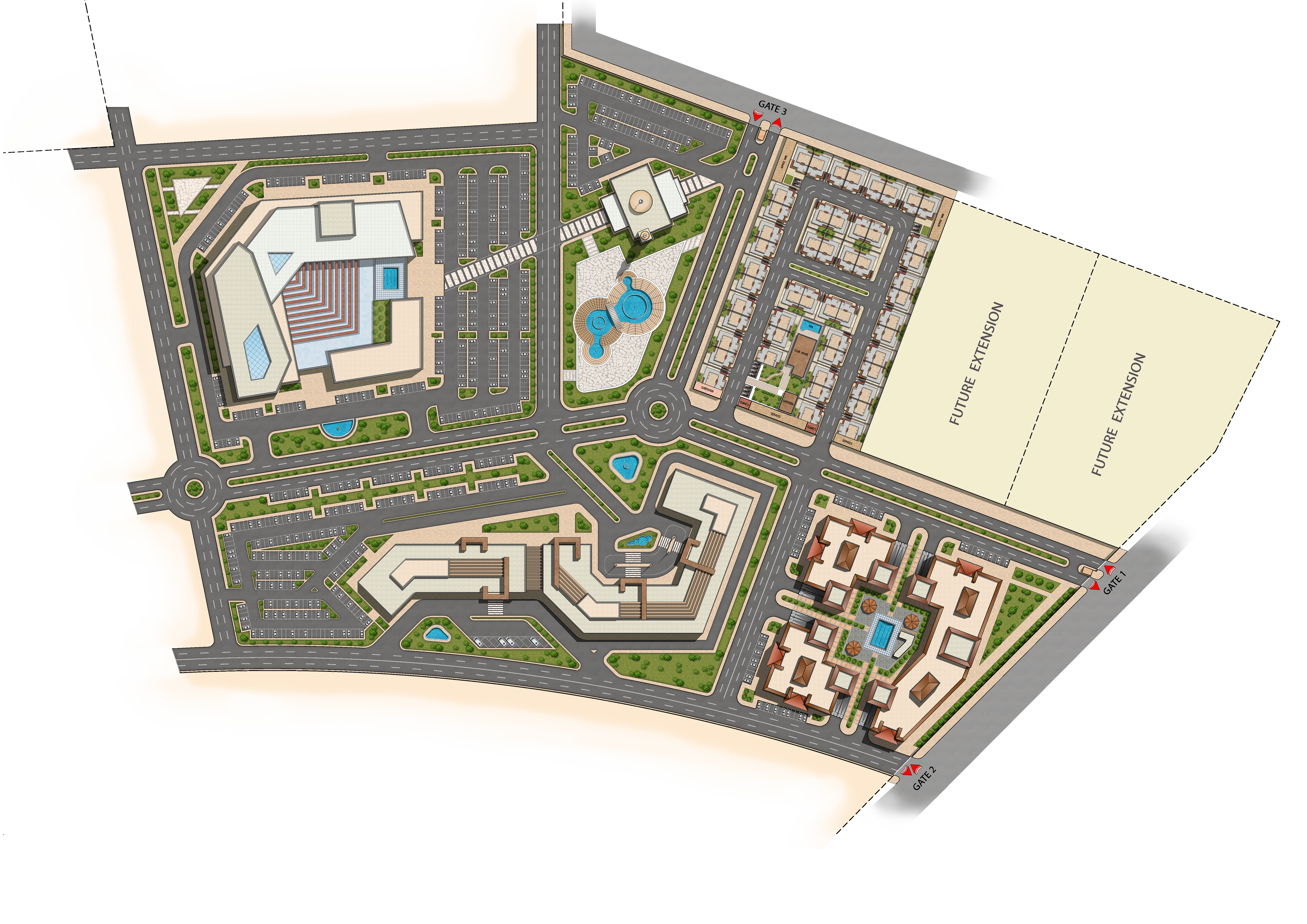 Sheikh Hassan Bin Khalid Al Thani - Landuse Design