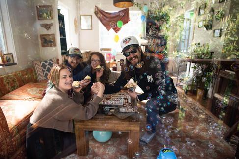 Hannah, Evan, Cassidy and Dustin