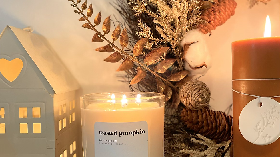 The LUXURY triple wick candle