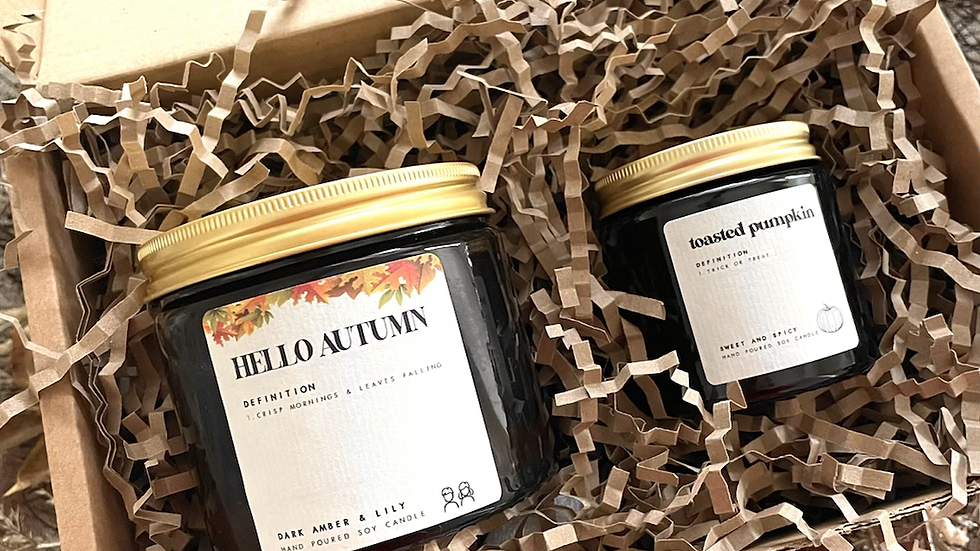 """the """"autumnal"""" gift box"""