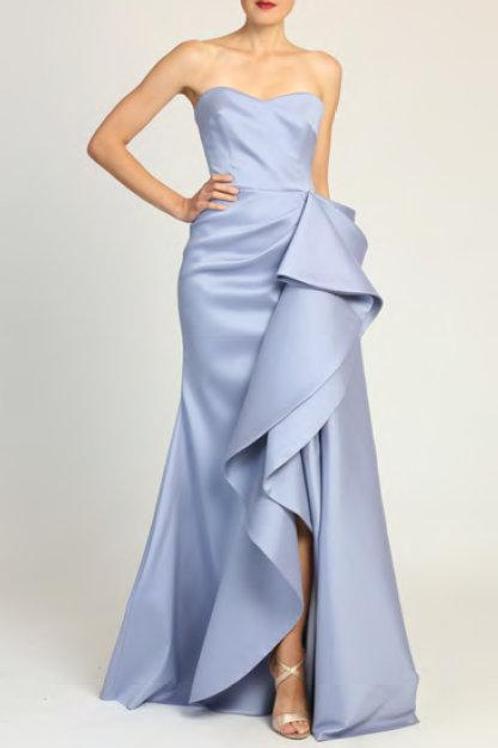 Badgley Mischka Strapless Gown