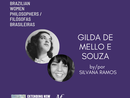 Gilda de Mello e Souza by/por Silvana Ramos: Brazilian Women Philosophers