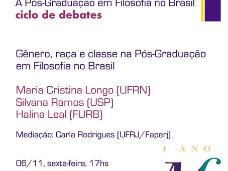 Gênero, raça e classe na Pós-Graduação em Filosofia no Brasil