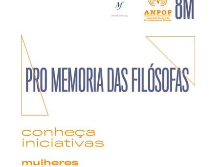 Pro Memoria das filósofas