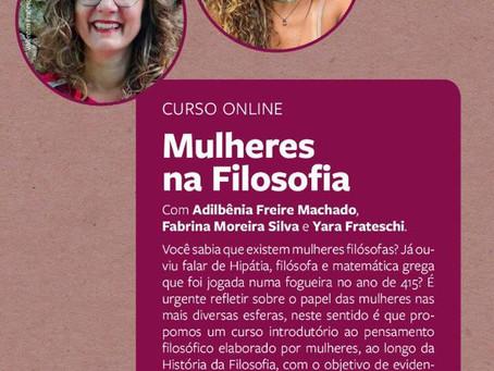 Mulheres na Filosofia: Curso Online Gratuito