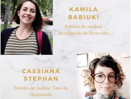Cassiana Stephan e Kamila Babiuki no Filósofas UFPR