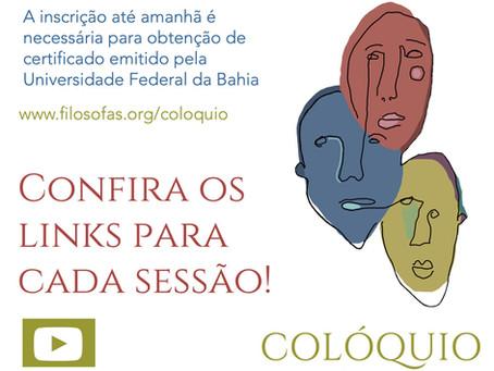 Última chamada para inscrições: Colóquio Filósofas. Confira aqui os links!