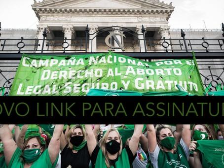Novo Link para Assinaturas: Petição da Rede Argentina de Coletivos Feministas de Filosofia